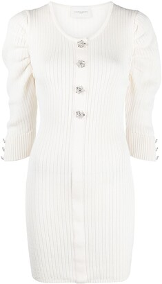 Giuseppe di Morabito Crystal-Embellished Knitted Top