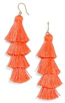 BaubleBar Women's Gabriela Fringe Earrings