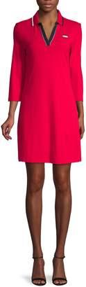 Tommy Hilfiger Striped Polo Mini Dress