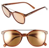 Revo Men's Clayton 52Mm Sunglasses - Brown/ Champagne
