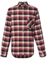 Public School Leto Checked Shirt - Purple - Size XL