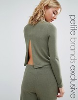 Noisy May Petite Long Sleeve High Neck Sweater Co-Ord