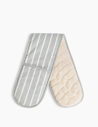 Marks and Spencer Butcher's Striped Double Oven Glove