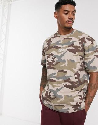 Topman t-shirt in camo print