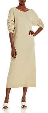 REMAIN Valcyrie Knit Merino Wool V-Back Dress