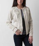 Blanc Noir Perforated Jacket