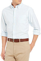 Daniel Cremieux Long-Sleeve Stripe Oxford Woven Shirt