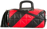 Sonia Rykiel quilted barrel bag - women - Leather - One Size