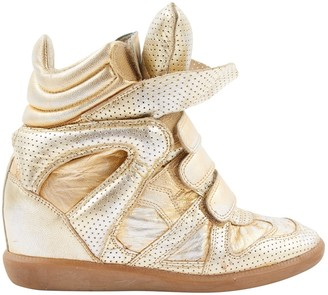Isabel Marant Metallic Leather Boots