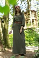 Shabby Apple Forrest Jersey Dress Olive