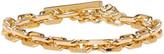 Versus Gold Heavy Lion Medallion Bracelet