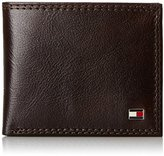 Tommy Hilfiger Men's Leather Jerome Double Billfold Walllet
