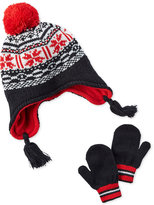 Carter's 2-Pc. Fair Isle Hat and Mittens Set, Baby Boys (0-24 months)