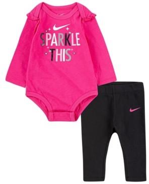 Nike Baby Girls Bodysuit and Leggings Set