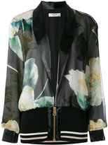 Lanvin printed bomber jacket - women - Silk/Polyester/Polyurethane/Viscose - 36