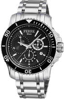 Ferré Milano Men's 44mm Stainless Steel Dive Watch with Bracelet