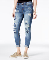 Vanilla Star Juniors Rip and Repair Super Soft Jean