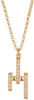 Botkier Crystal Three Stick Pendant Necklace