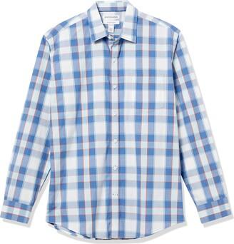 Amazon Essentials Long-Sleeve Regular-fit Casual Poplin Shirt