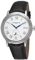 Raymond Weil Men's 2838-STC-00308 Maestro White Small Second Dial Watch