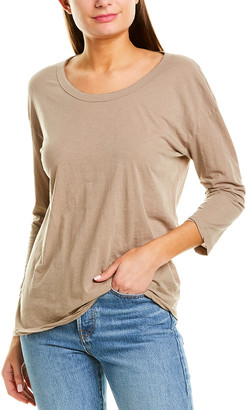 James Perse 3/4-Sleeve T-Shirt