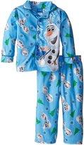 Disney Little Boys' Frozen Frozen Olaf Coat Pajama Set