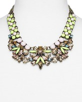 BaubleBar Azurine Bib Necklace, 17""