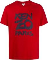 Kenzo graphic logo-print boxy T-shirt