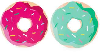 Sunnylife Set Of 16 Donut Reversible Coasters