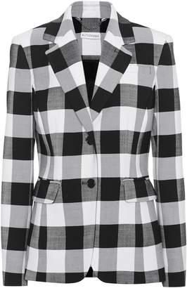 Altuzarra Fenice gingham wool-blend blazer