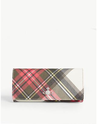 Vivienne Westwood Derby faux-leather credit card wallet