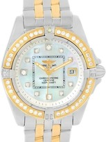 Breitling Windrider Cockpit D71356 Stainless Steel & 18K Yellow Gold 32mm Womens Watch