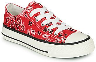 Andre VOILY boys's Shoes (Trainers) in Red