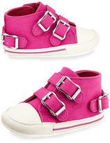 Ash Mini Canvas High-Top Sneaker, Infant