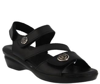 Spring Step Flexus by Leather Slingback Sandals- Safa