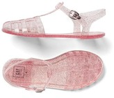 Gap Glitter basketweave sandals