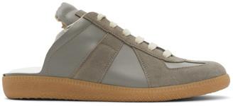 Maison Margiela Grey Replica Cut-Out Sneakers