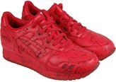 Asics Gel-Lyte III Marble Pack Mens Red Leather Lace Up Sneakers Shoes 10