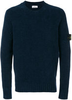 Stone Island arm patch jumper