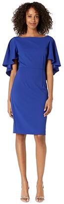 Trina Turk Luxurious Dress (Sapphire) Women's Clothing