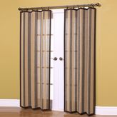 Bed Bath & Beyond Easy Glide All-Natural 63-Inch Bamboo Ring Top Window Curtain Panel