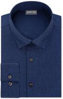 Kenneth Cole Reaction Men's Techni-Cole Slim-Fit Performance Juniper Solid Dress Shirt