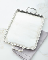 Match Large Handled Pewter Tray