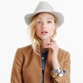 J.Crew Short-brimmed Italian wool-felt hat
