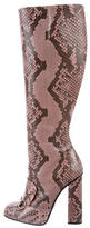 Gucci Python Lilian Boots