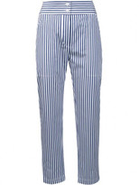 ADAM by Adam Lippes striped cropped trousers
