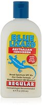 Blue Lizard Australian Sunscreen, Regular, SPF 30+, 8.75-Ounce Bottle