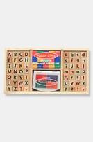 Melissa & Doug Toddler Alphabet Stamp Set