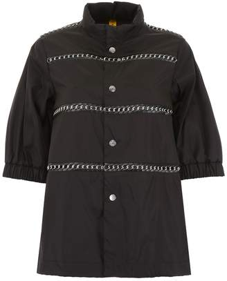 Moncler Genius X Noir Eyelet Detail Jacket