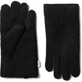 Paul Smith Shearling Gloves - Black